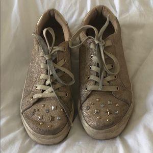 Girls glitter sneakers